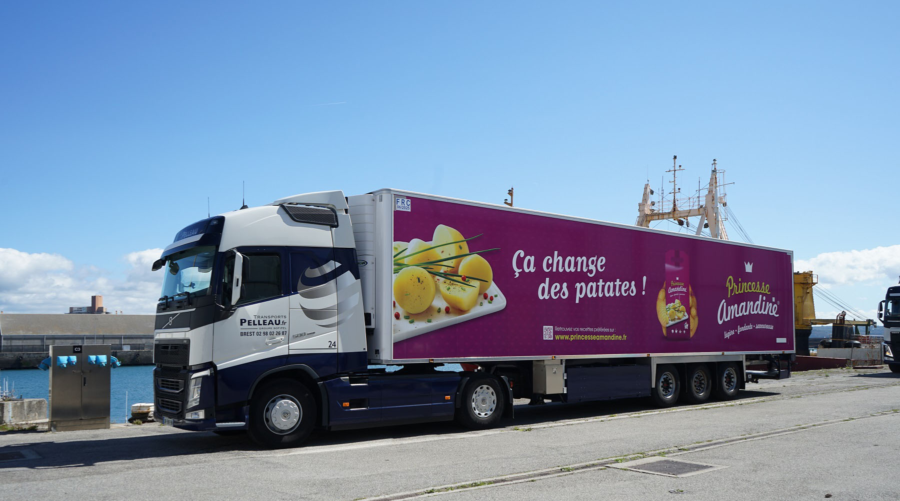 Camion Princesse Amandine